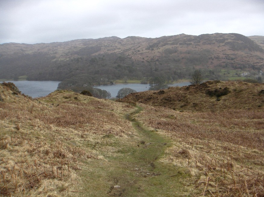 Looking back to Coniston Water