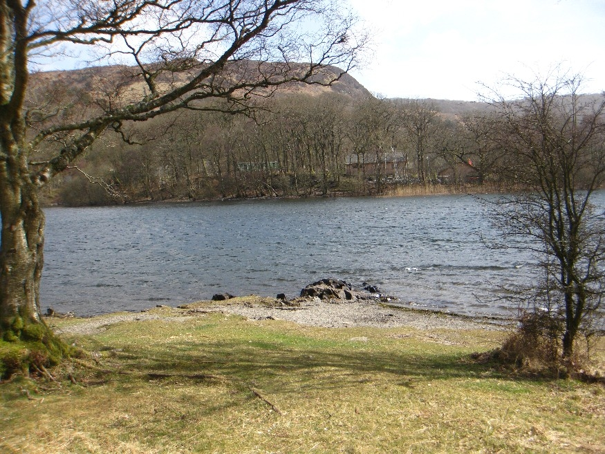 The narrowest, and shallowest  part of Coniston Water