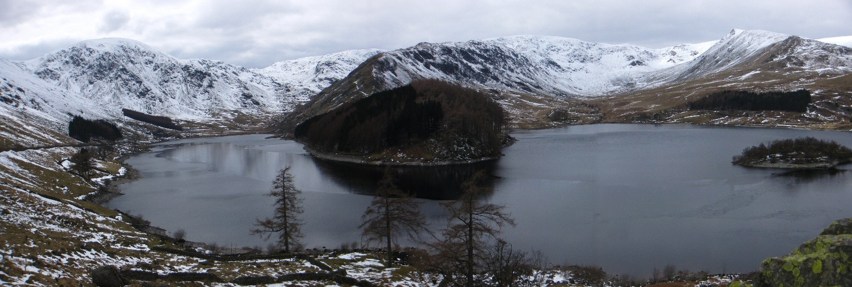 Mardale Head, The Rigg, Riggindale and Kidsty Pike panorama