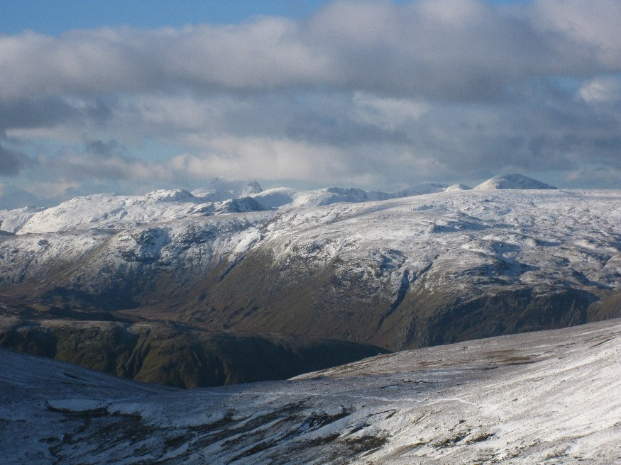 Close up of the western fells