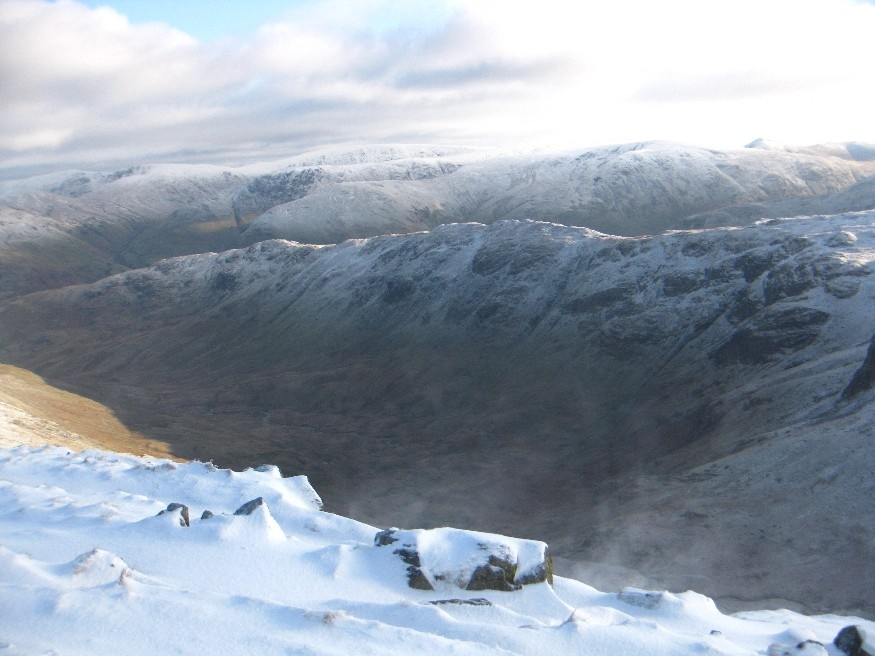 Spindrift looking over Deepdale to Hartsop Above How