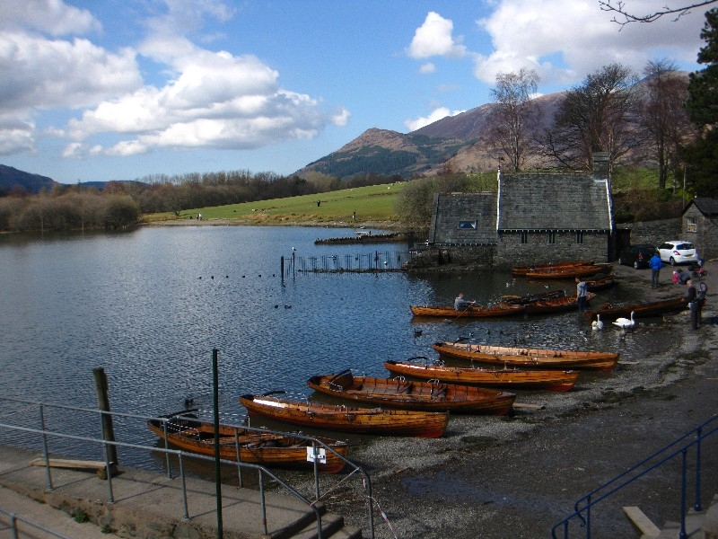 Back at the Landing Stages of Keswick