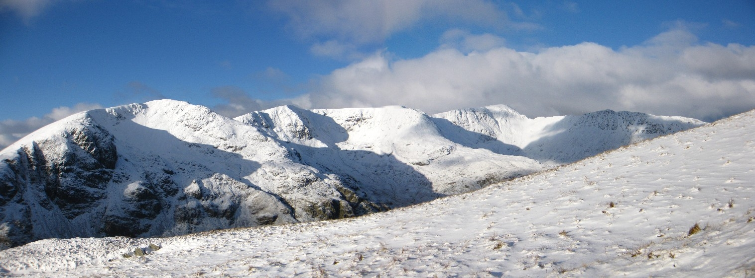 Dollywaggon Pike, Nethermost Pike and Helvellyn